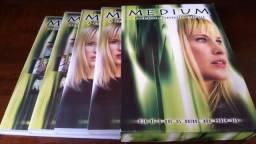 A Primeira Temporada Completa Série Médium Original 04 DVDs e 16 episódios
