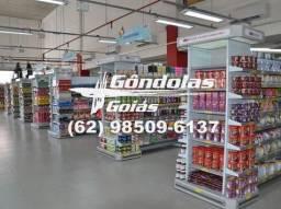 """Linha Home e outros """" Gôndolas Goiás"""