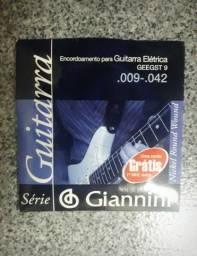 Encordoamento Guitarra Giannini 009