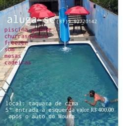 Aluga-se piscina