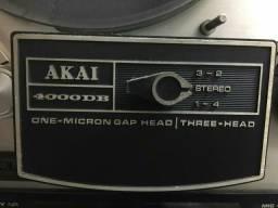 Gravador de rolo akai modelo md4000