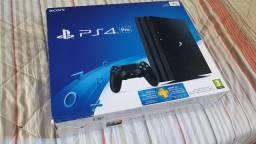 PS4 Pro 1TB + 2 Controles + 8 Jogos