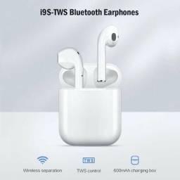 Novos fones de ouvido sem fio Bluetooth i9S TWS
