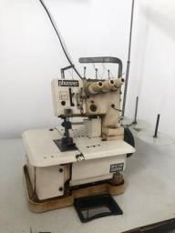 Máquina galoneira phonner Completa com mesa 3 agulhas