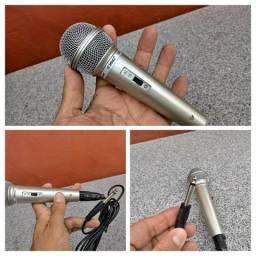 Microfone profissional dinâmico Karaokê
