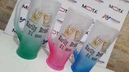 Copo long drink Personalizado. Varios modelos