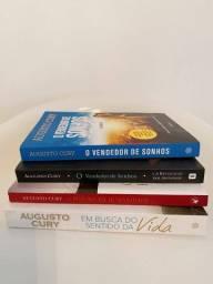4 Livros do autor Augusto Cury