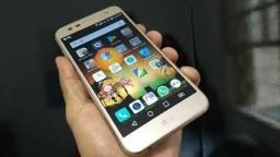 """Celular LG Smartphone K-10 Pawer Plus Metal 32GB TVHD 5.7"""" Original na Caixa"""