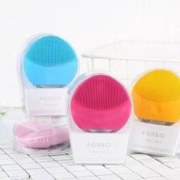 Equipamento limpeza facial mini impulsos sônicos transdérmicos