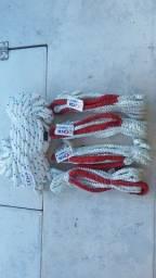 Jogo de cabos da Velamar Náutica, para ancoragem