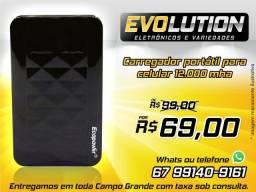 Carregador Portátil Bateria Power Bank Ecopower 12000mah