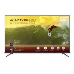 Smart TV TCL 55 cm nota fiscal e 12X no cartao