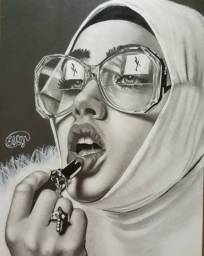 Desenho de retratos