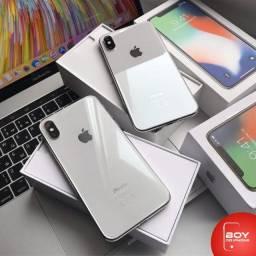 IPhone X com 64GB, Silver, 03 Meses de Garantia, Oferta por tempo limitado