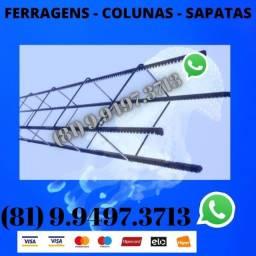 Ferragens , Colunas e Sapatas Direto da Distribuidora 02187375