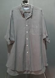 Camisa Ralph Lauren XXL bordado azul.
