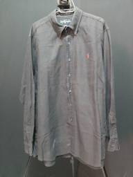 Camisa Ralph Lauren L preta - manchada.