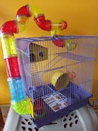 Gaiola tubo hamster