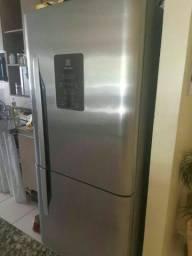 Vendo geladeira inox