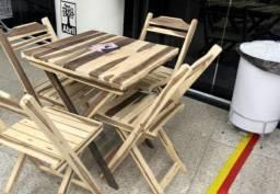 Conjunto de mesas e cadeiras - Últimos conjuntos
