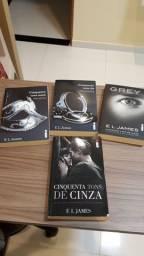 Trilogia 5tons de cinza mais Gray 10 reais CADA.
