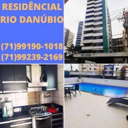 Residencial Rio Danúbio, 3 quartos com suíte, 82 metros, Armação, infra completa