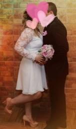 Belíssimo vestido de casamento