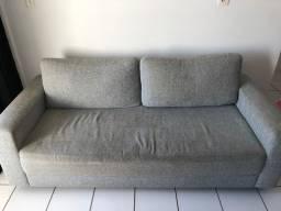Sofá usado cor cinza