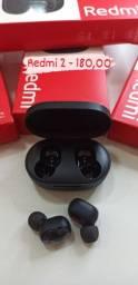 Redmi Airdots 2 - Fone gamer - Compre com confiança (Loja física)