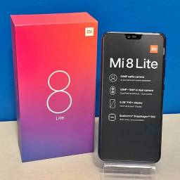 Xiaomi Mi 8 Lite 64GB4GB - Versão Global Com Garantia -Cor Preto - Loja Fisica