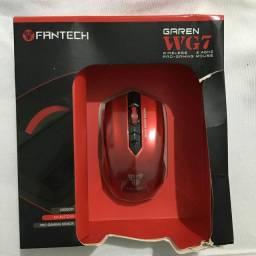 Mouse Fantech Garen WG7 Wireless 2.4Ghz Pro-Gaming 2000Dpi 6 botões