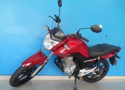 Honda fan 160 vermelha
