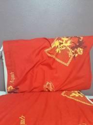 Travesseiro vermelho