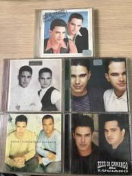 5 CDs originais Zezé di camargo e Luciano comprar usado  Piracicaba