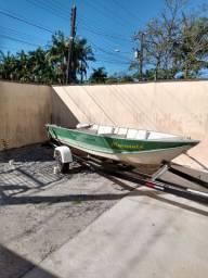 Barco carretinha rodoviária