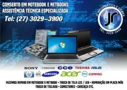 Conserto em Notebook e Netbooks- Assistência Técnica Especializada
