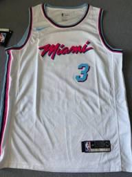 Camisa Nike NBA Miami Heat Branca G
