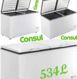Freezer 534 l Consul horizontal 2 portas