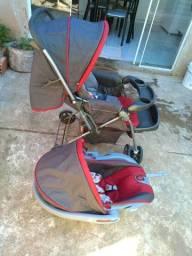 Vendo carrinho mais bebê conforto