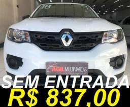 Renault Kwid Zen 1.0 Flex 2019 Completo Ùnico Dono