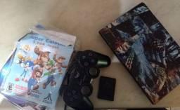 Playstation 2 completo negociável