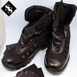 Coturno Couro Legitimo Boot Wear