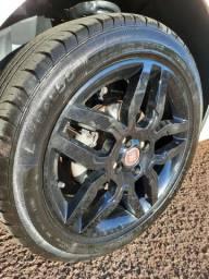 Jogo de roda 17 fiat 4/98 com pneus