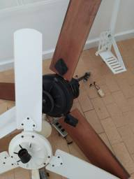 3 ventiladores de teto