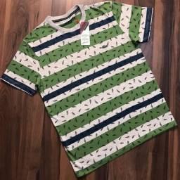 Camisa 30.1 E camisa malha com algodão Elastano