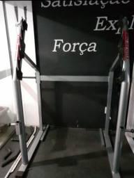 Aparelho para agachamento suporte