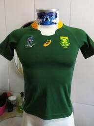Camiseta Rugby seleçao Africa do sul