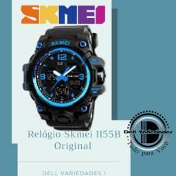 Relógio Skmei 1155B Original a Prova D'água. Produto Novo. Dell Variedades