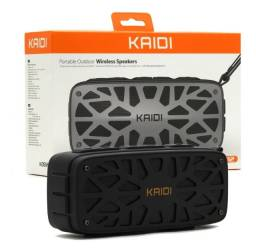 Caixa De Som Bluetooth Recarregável 6w Usb P2 Fm Kaidi Kd812 - Imperium Informatica