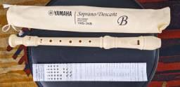 Flauta Barroca Doce Yamaha (Nova)